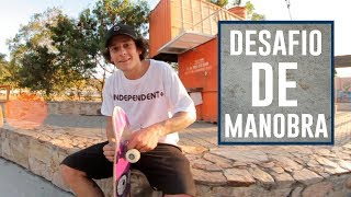 HALFCAB NOSE TO BS TAIL - DESAFIO DE MANOBRA GIAN
