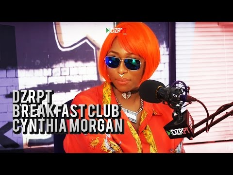 VIDEO: Cynthia Morgan Talks To The Breakfast Club on DZRPT TV