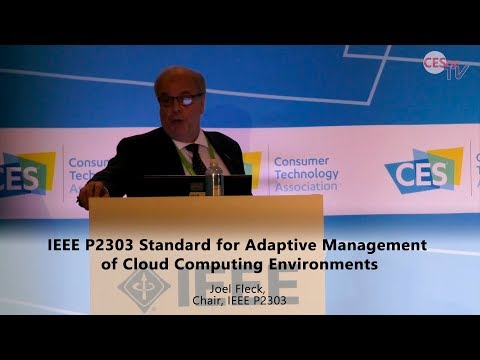 IEEE P2303 Standard for Adaptive Management of Cloud Computing Environments