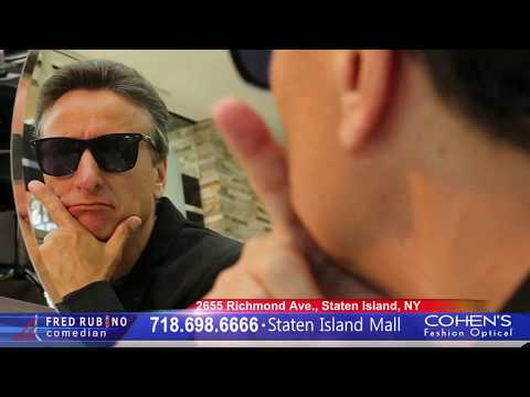 FRED RUBINO at COHEN'S FASHION OPTICAL in STATEN ISLAND MALL