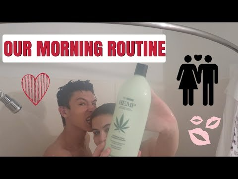 OUR MORNING ROUTINE AS A COUPLE ! ❤️