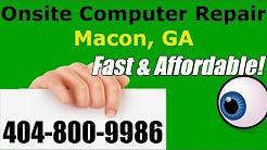Macon Onsite Computer Repair Services Bibb County - Georgia