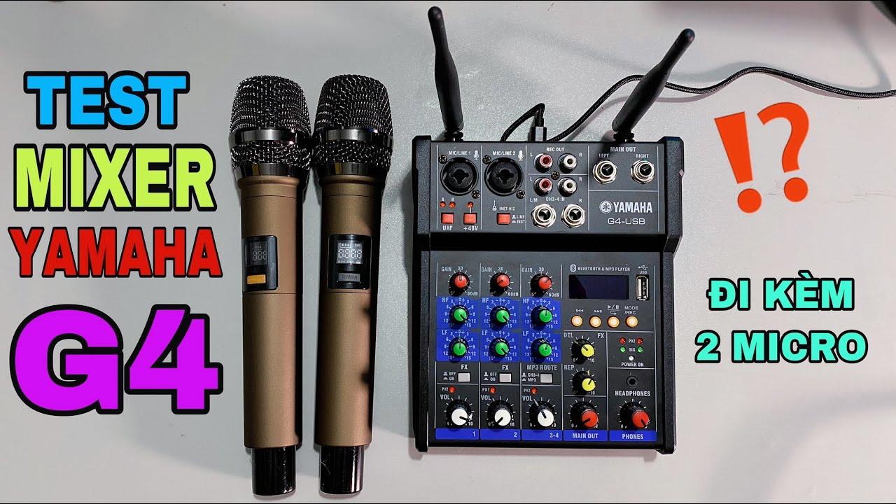 Download LHS | Hướng Dẫn Lắp Đặt & Test Nhẹ Mixer Yamaha G4 Giá Rẻ | Lê Hoàng Studio 0989737960 Zalo 24/24