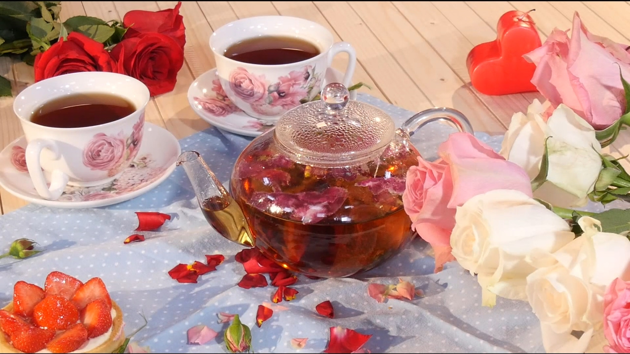 чай с вареньем фото