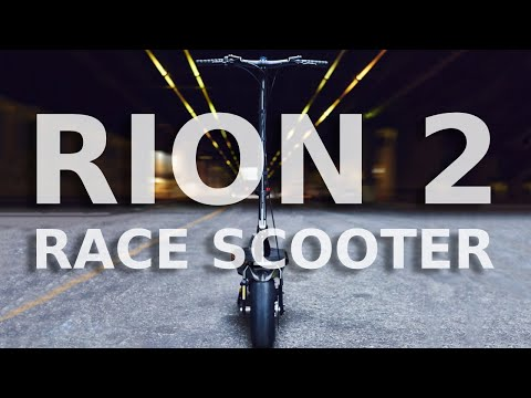 RION2 Race Edition Teaser | 24,000 watt scooter for electric motorsport