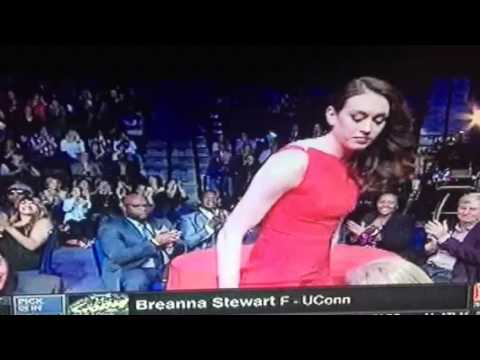 Brianna Steward UConn Forward WNBA Seattle Storm 1st Rd Pick