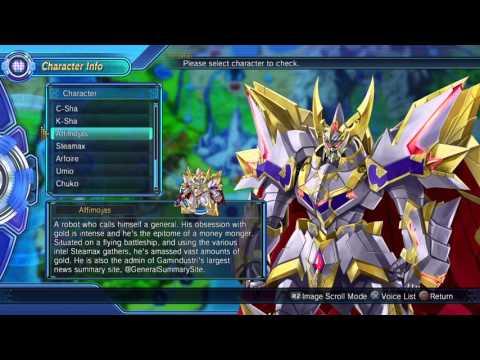 Megadimension Neptunia VII: All English Bonus Voices (5/7) | Affimojas, Steamax, Arfoire |