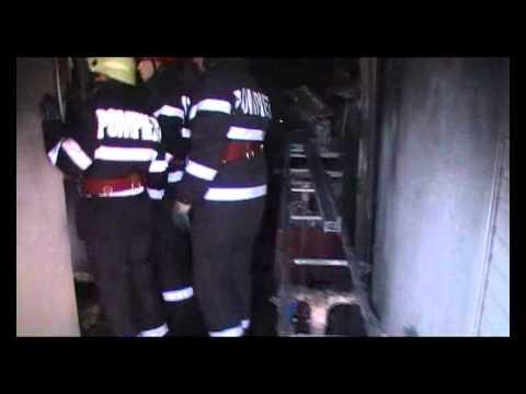 Incendiu stadionul Brebeni