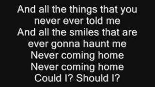 mcr - ghost of you lyrics