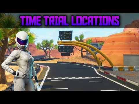 How To Complete Timed Trials - All Time Trial Locations In Fortnite