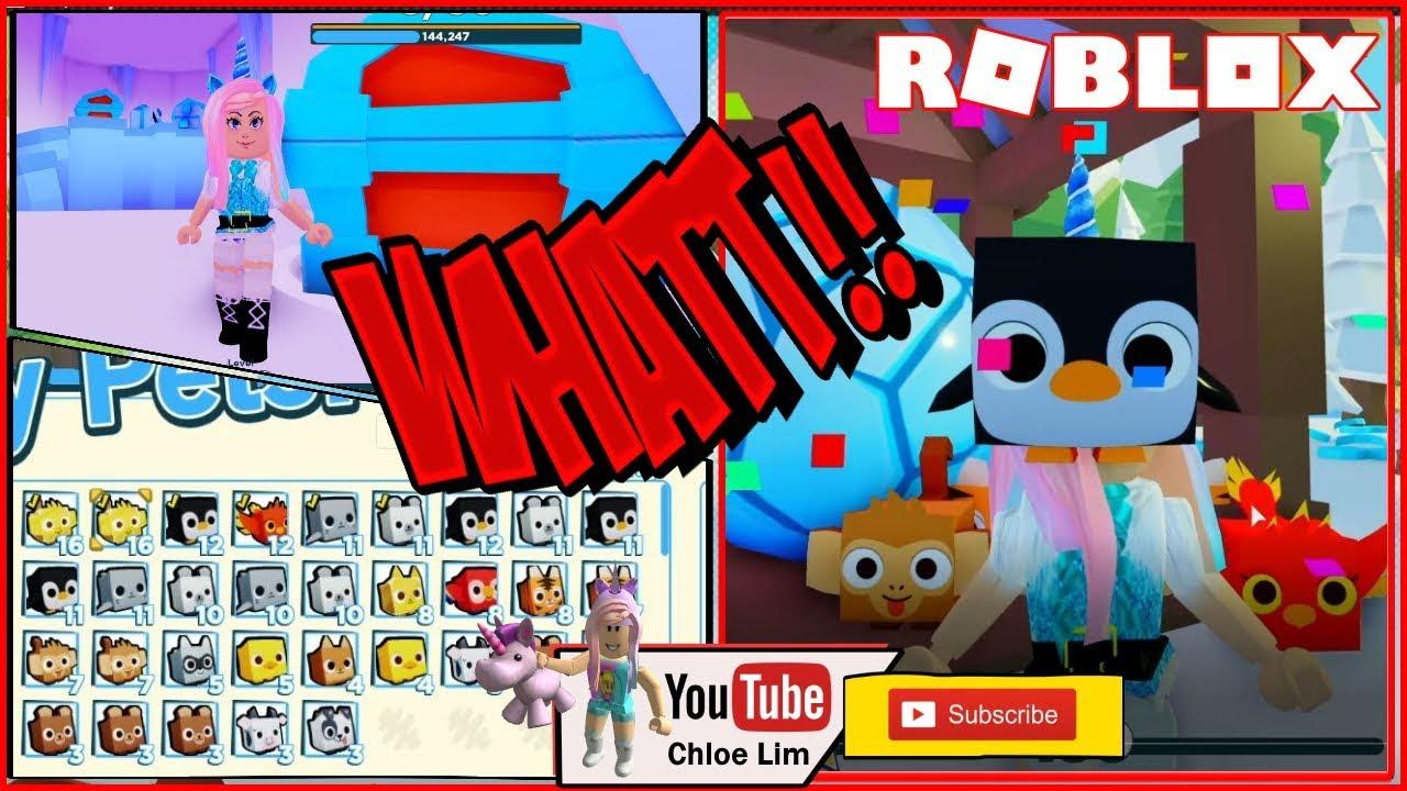 Roblox Pet Simulator Videos Chloe Tuber Roblox Pet Simulator 2 Gameplay New Winter World And Golden Pets Scam