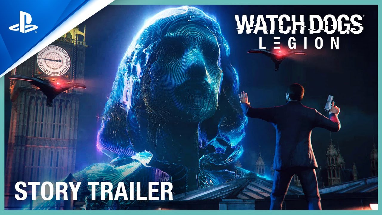Watch Dogs Legion - Tráiler Recupera tu futuro