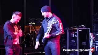 Rig Rundown - Trivium Matt Heafy, Corey Beaulieu, and Paolo Gregoletto