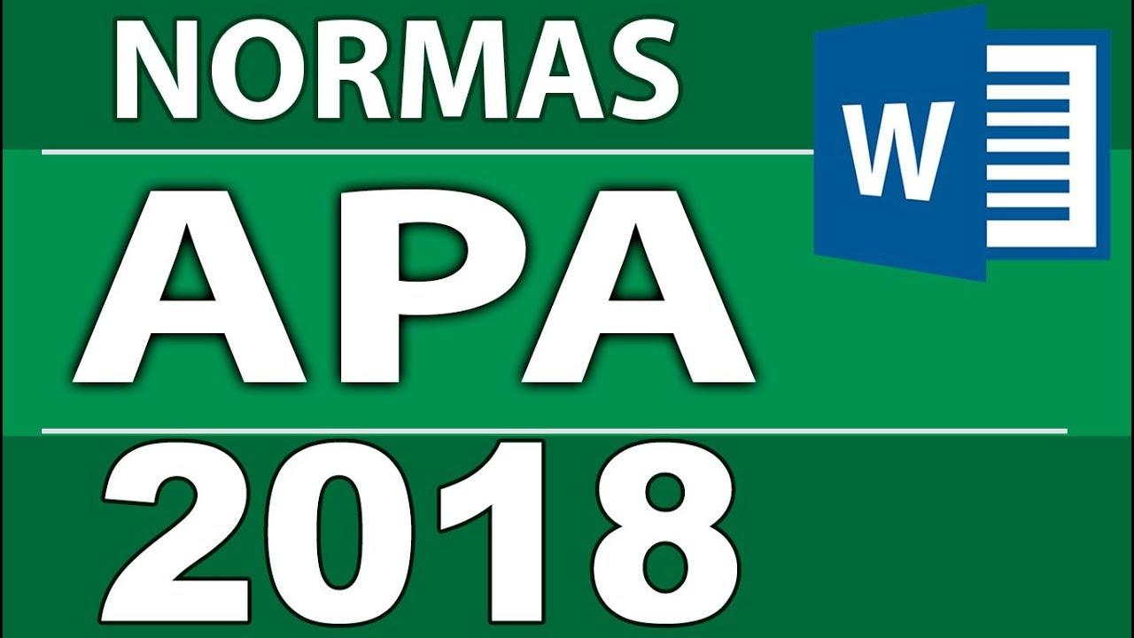 Normas Apa 2018 6ta Sexta Edición Para Tesis Monografías Informes
