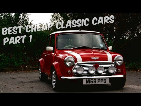 Best Cheap Classic Cars Part 1