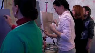 Курсы рисования для взрослых в Москве, обучение живописи маслом, Игорь Сахаров 3