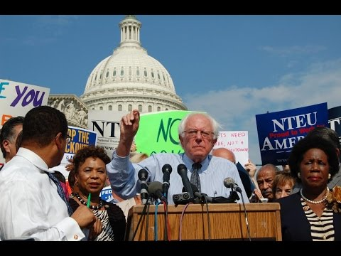Bernie Sanders was the only white person to show up to black caucus back in 2004