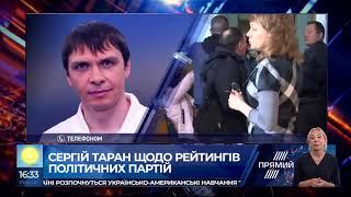 Сергій Таран про падіння рейтингів політичних партій