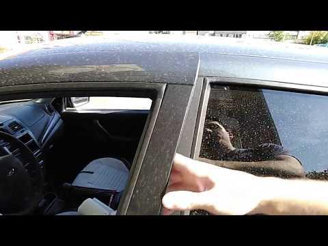 Установка уплотнителя вертикальной кромки двери Lada Granta FL РКИ 19