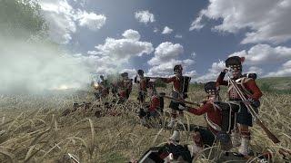 ОГРОМНАЯ ЭПИЧНАЯ БИТВА ПЕХОТЫ 18-го ВЕКА ! Стенка на Стенку в игре Mount and Blade Napoleonic Wars