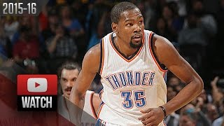 Kevin Durant Full Highlights vs Clippers (2016.03.09) - 30 Pts, 12 Reb, 7 Ast