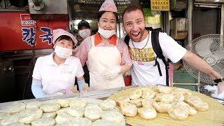 The ULTIMATE Korean STREET FOOD Tour at Namdaemun Market | Seoul, South Korea