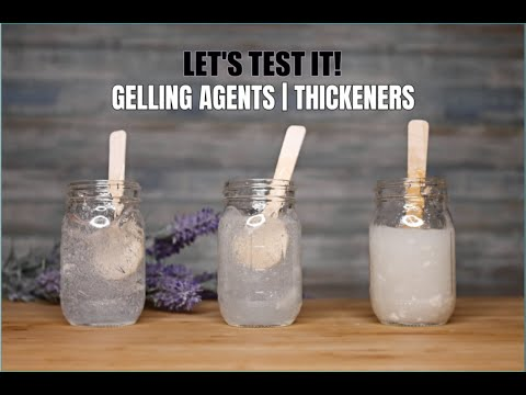 LET'S TEST IT | How to make CLEAR GEL | GELLING AGENTS & THICKENERS | EP.1