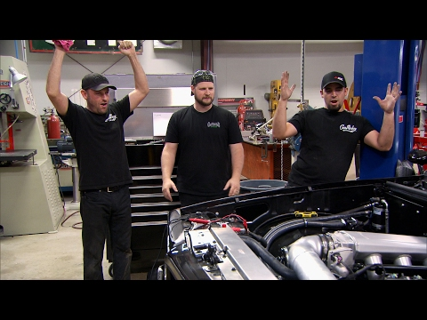 Sometimes Mechanics Need to be Electricians Too | Fast N' Loud