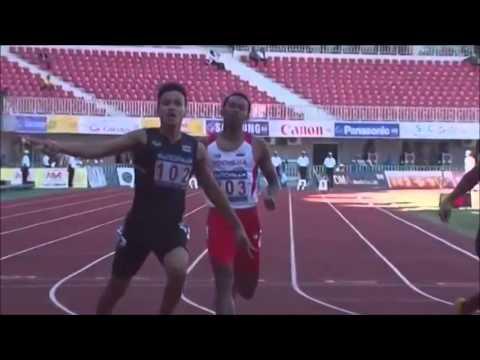 Sea Games 27th 100m Men Final