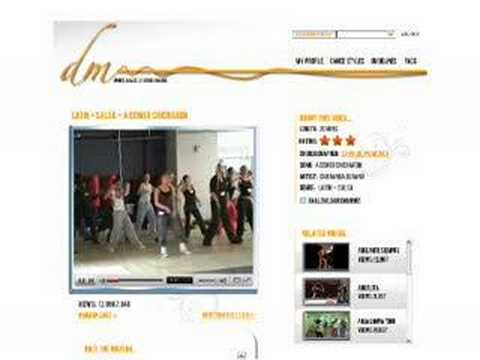 *Learn to dance online* at DanceMass TV (online dance studio)