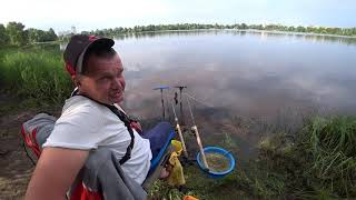 """Рибалка в затоці Дніпра """"Верблюжа"""""""