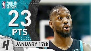 Kemba Walker Full Highlights Hornets vs Kings 2019.01.17 - 23 Pts, 5 Ast, 5 Rebounds!