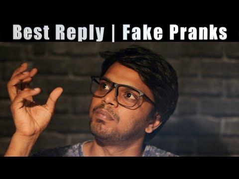 Fake Pranks   Part 5    Reply Video   Arunodhayan