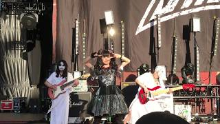 BabyMetal Opening - Shoreline Amphitheater - 2017 - Mountain View, ...
