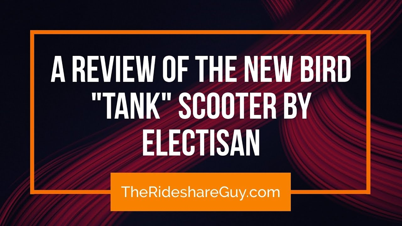Bird Zero Review The New Scooter By Electisan Aka Tank