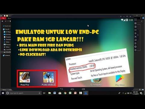 Emulator Paling Ringan Untuk Low End PC - Ram 1GB Lancar!!