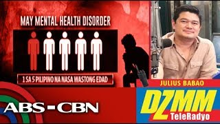 DZMM Tele Radyo: Mental Health Law to result in more accessible, affordable help