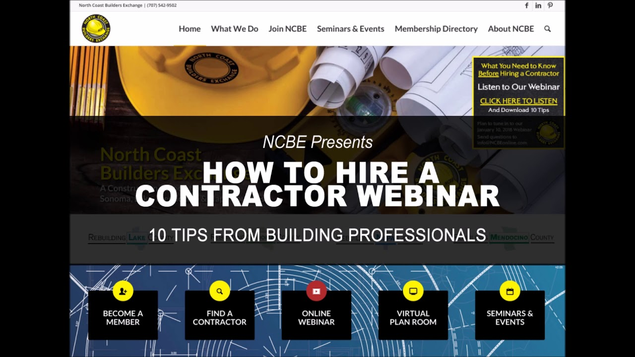 What You Need to Know Before Hiring a Contractor – North
