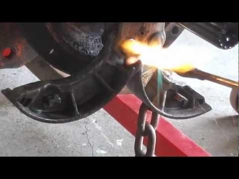 Zetor Seized Brake repair - YouTube