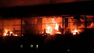 Пожар в Библиотеке Института общественных наук 31 января 2015