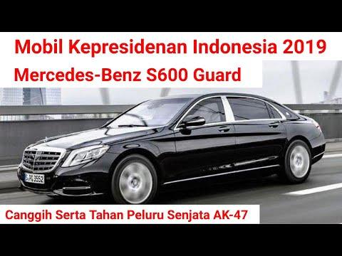 Mercedez Benz S600 - Mobil Presiden RI Jokowi 2019