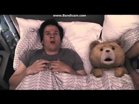 Ted: The Movie - John Bennett and Teddy Bear Singing The Fuck You Thunder Buddy Song