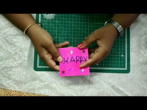 DIY Endless Card/Never Ending Card tutorial in Tamil/Birthday gift/Handmade craft/#Josh's#Crafts