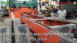 How to make a Nissan diesel  dump truck with body