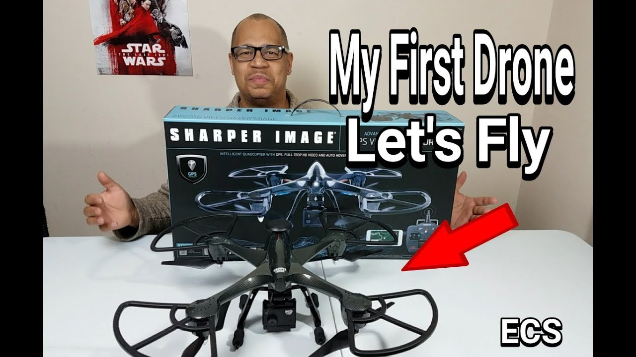 Sharper Image Gps Video Hover Drone My First Drone 2018 Lets Fly