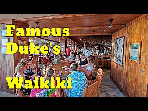 Duke's Waikiki Famous Bar & Restaurant Gorgeous Sunsets Honolulu Oahu