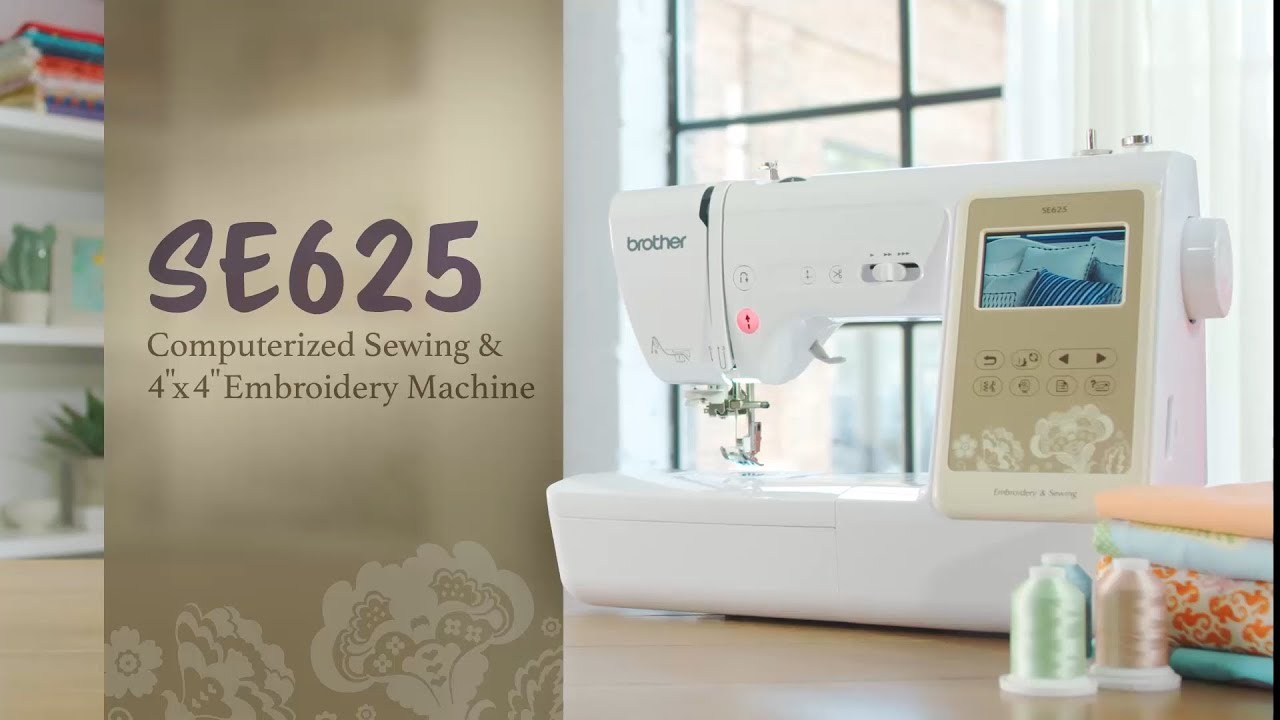 5e2928a8159 Brother SE625 2-in-1 Sewing and 4