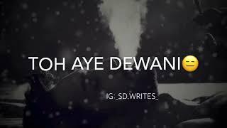 Tadpaye Mujhe Teri Sabhi Baatein | Zara Zara Mehekta Hai | Whatsapp Status | Remake
