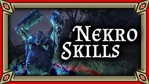 DER NEKROMANT UND SEINE SKILLS - Necromancer - ESO News von A-Z – The Elder Scrolls Online