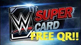 FREE QR CODES - WWE SUPERCARD - 2019